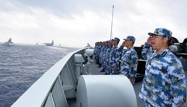The Rise of China's Navy: A Discussion with Capt. James Fanell