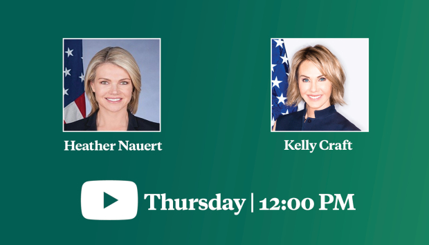 Video Event | Maintaining U.S. Leadership Amid Shifting Geopolitics: A Conversation with Ambassador Kelly Craft