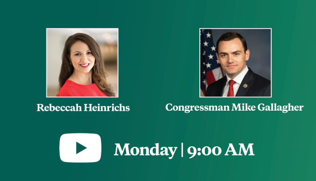 Video Event | Congressman Mike Gallagher on the Importance of Strategic Alliances Amid Chinese Communist Aggression