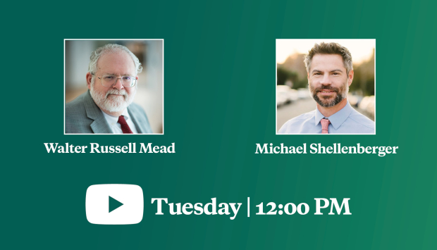 Video Event | Boosting the Middle Class and Improving the Environment: A Discussion with Michael Shellenberger