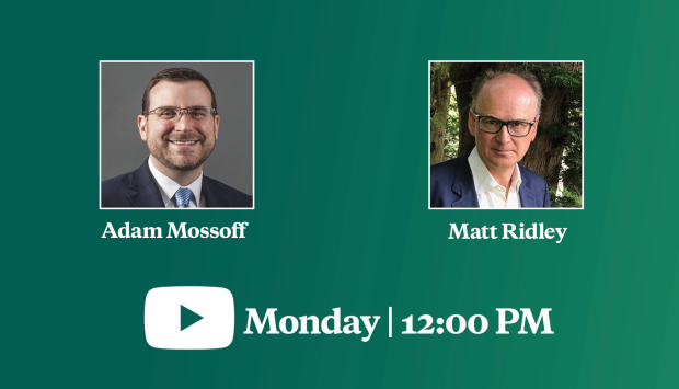 "Video Event | Author Matt Ridley on ""How Innovation Works: And Why It Flourishes in Freedom"""