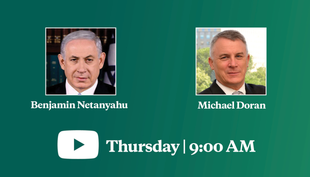 Video Event | A Conversation with Israeli Prime Minister Benjamin Netanyahu