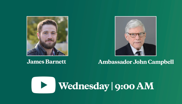 Video Event | The Future of U.S.-Nigeria Relations: A Conversation with Ambassador John Campbell
