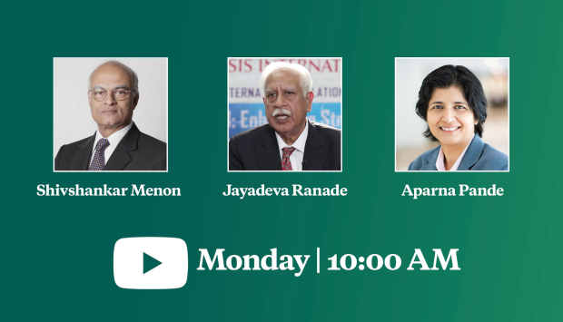 Virtual Event | An Intensifying Rivalry? The Future of India-China Relations