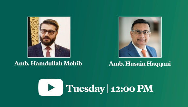 Virtual Event | Prospects for Peace: A Conversation with Afghanistan's National Security Advisor