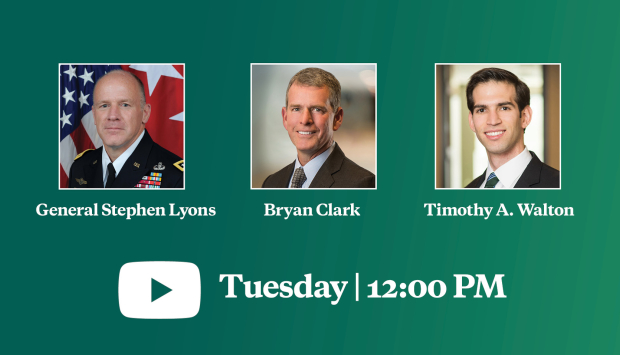 Virtual Event | A Conversation with USTRANSCOM Commander GEN Stephen Lyons