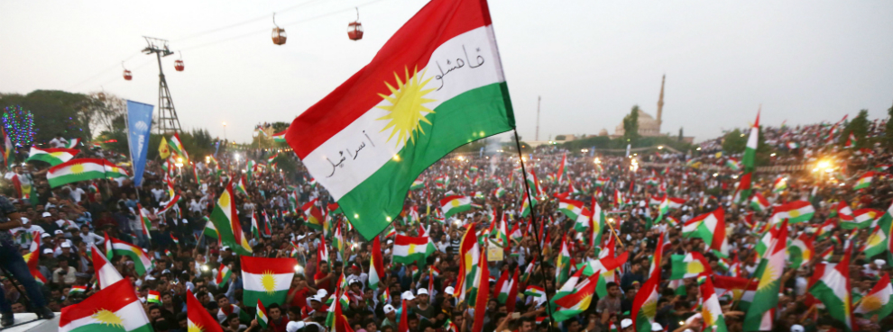 Image result for Kurds, october 2017, flags, photos