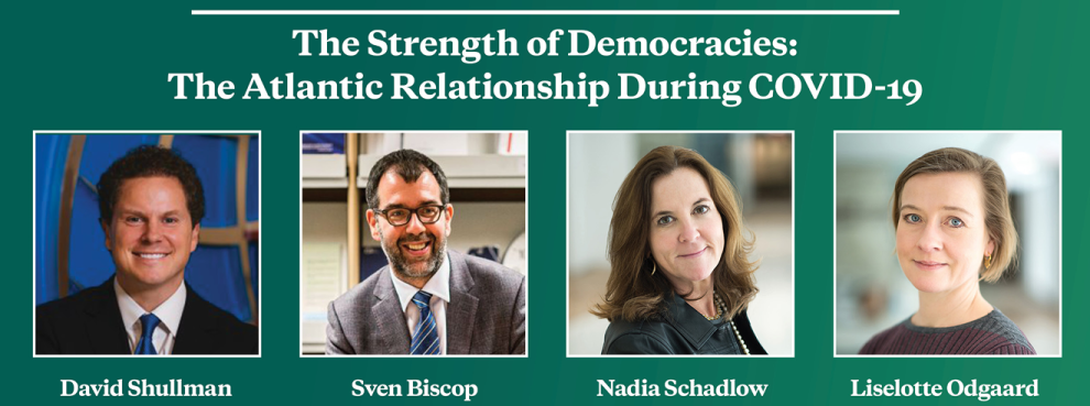 Video Event | The Strength of Democracies: The Atlantic Relationship During COVID-19