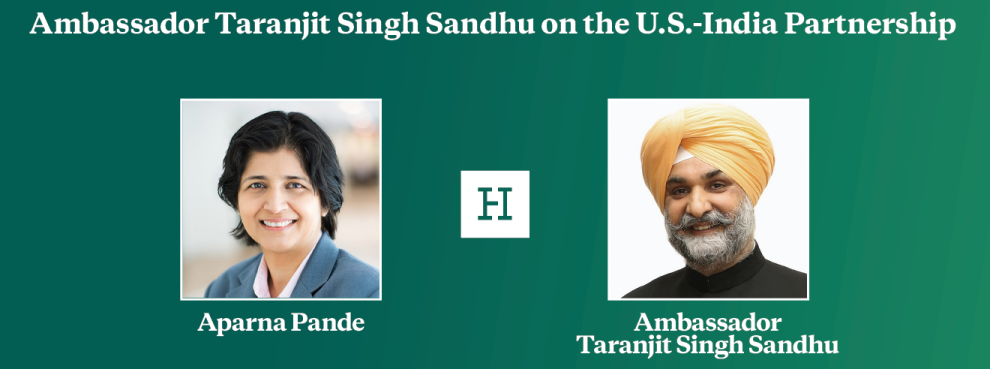 Video Event | Ambassador Taranjit Singh Sandhu on the U.S.-India Partnership