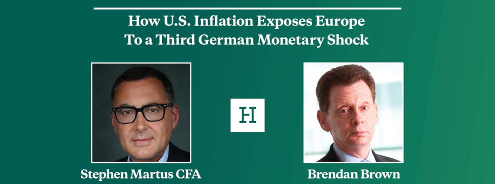 How U.S. Inflation Exposes Europe To a Third German Monetary Shock