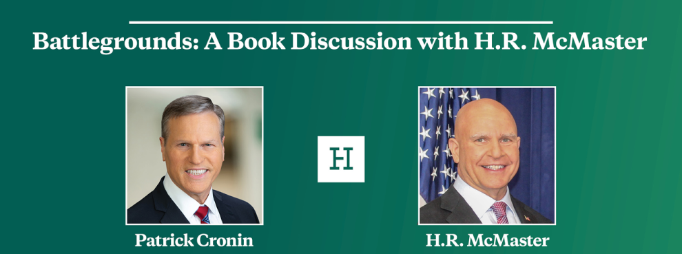 Video Event | Battlegrounds: A Book Discussion with H.R. McMaster
