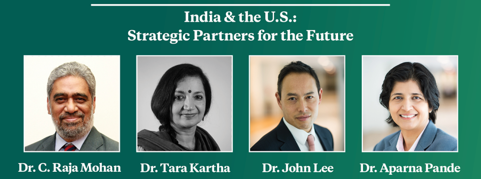 Video Event | India & the U.S.: Strategic Partners for the Future