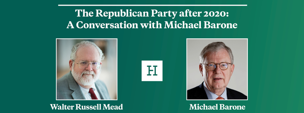 Virtual Event | The Republican Party after 2020: A Conversation with Michael Barone