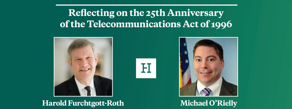 Virtual Event | Reflecting on the 25th Anniversary of the Telecommunications Act of 1996
