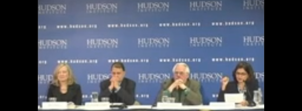 Hudson Event: The Rise of Islamism and its Impact on Religious Minorities, May 15, 2013