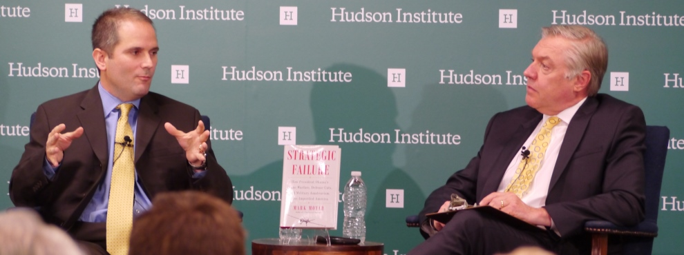 Strategic Failure: A Book Discussion with Mark Moyar, June 30, 2015