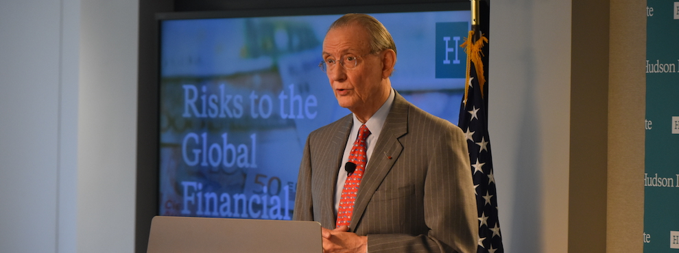Risks to the Global Financial System: Remarks by Bill Rhodes, April 21, 2016