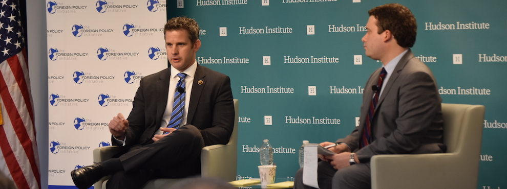 A Conversation on the Middle East with Congressman Adam Kinzinger, May 26, 2016