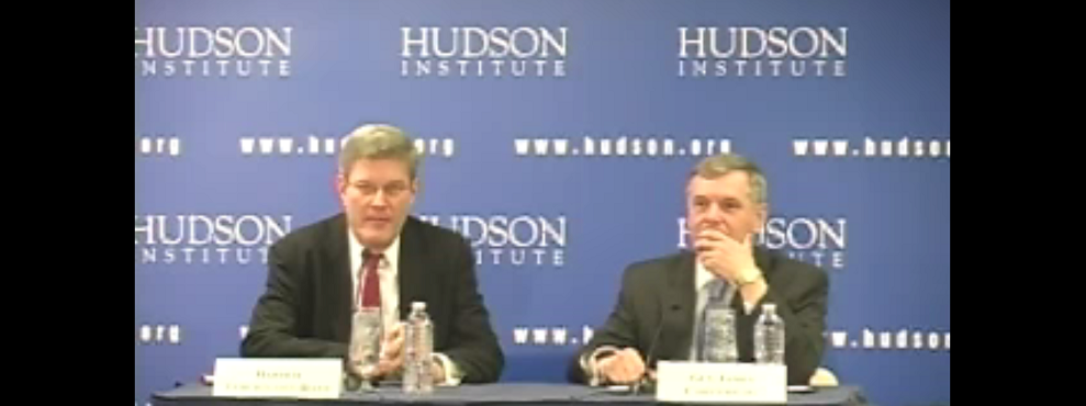 Hudson Event: Recent Developments in Cyberwarfare, February 13, 2012