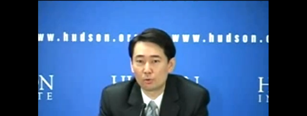 Hudson Event: Will Taiwan Be Secure in the Emerging Asian Order? May 9, 2012