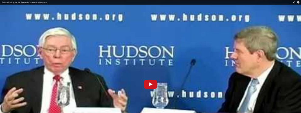 Hudson Event: Former FCC Chairman Richard Wiley Discusses the Future of FCC Policy, February 19, 2013