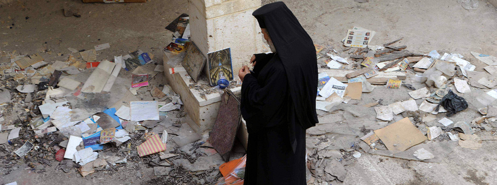The Stuff of Nightmares: Christians Forced from Homes in Syria's Kassab