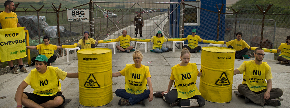 Is Russia Funding Europe's Anti-fracking Green Protests?