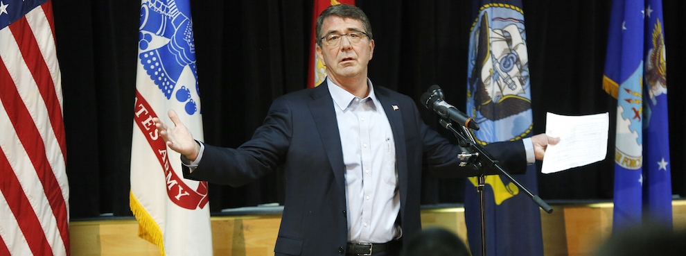 Standing Up to Ash Carter's PowerPoint Jihad