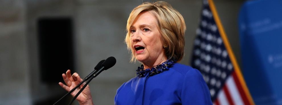 Hillary Clinton Calls for Criminal Justice Reform