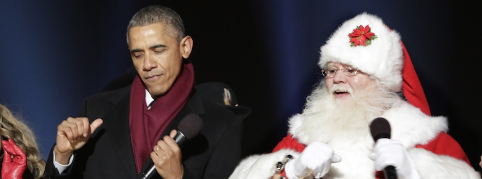 Ghosts of Presidential Christmases Past