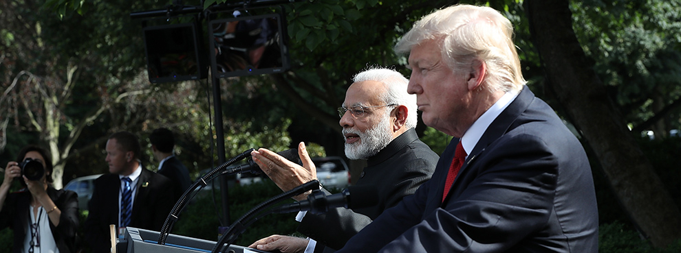 Time for a U.S.–India Rebalance