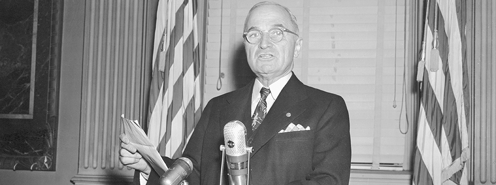 What Truman Can Teach Trump