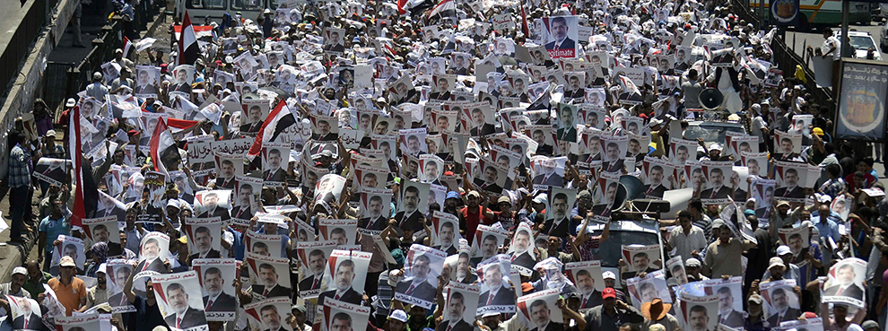 The Rise of the Violent Muslim Brotherhood - by Mokhtar Awad