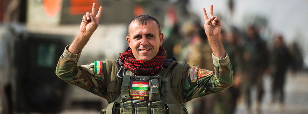 The Peshmerga: Fearsome, Fearless Fighters
