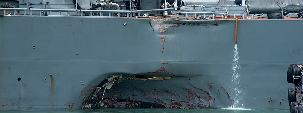 Three Questions Arising From Recent U.S. Navy Collisions