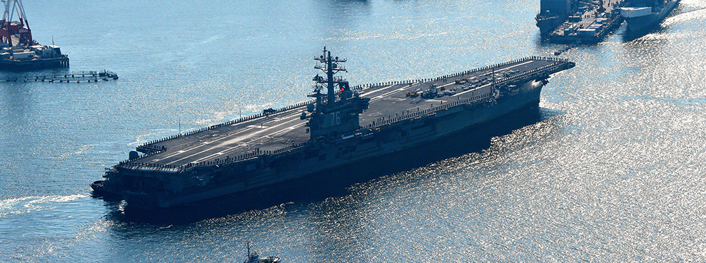 The U.S. Navy Lowers Its Sights