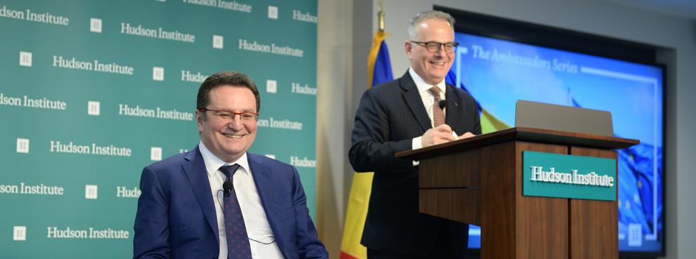 Transcript: The Ambassadors Series: The Romanian Presidency and the European Union