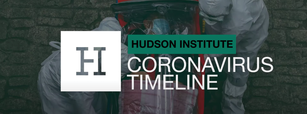 Hudson Institute Releases Video Highlighting Timeline of Genesis of Coronavirus in Wuhan, China