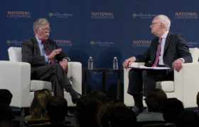 National Conservatism: A Conversation with National Security Adviser John Bolton