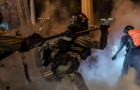 China Squirms in Global Spotlight on Hong Kong