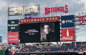 Charles Krauthammer and the Nats and me
