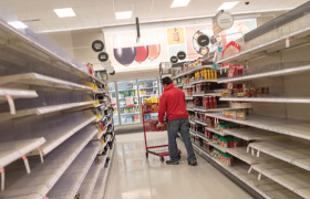 Empty Grocery Shelves Courtesy of Price Controls