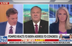 Pompeo Reacts to Biden Address to Congress