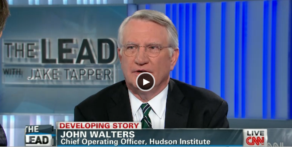 Walters with CNN's Jake Tapper on President Obama and Enforcement of Federal Marijuana Laws, January 24, 2014