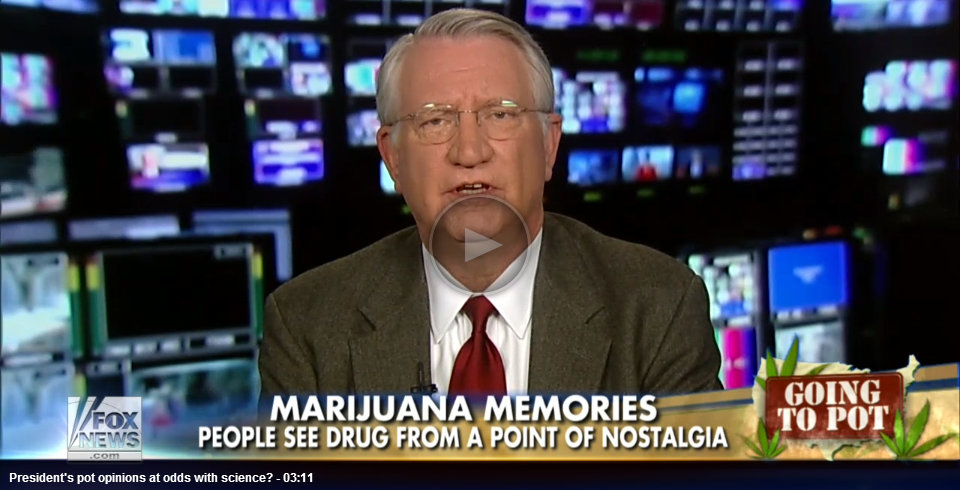 Fox News: Walters on President Obama and Enforcement of Federal Marijuana Laws, January 24, 2014