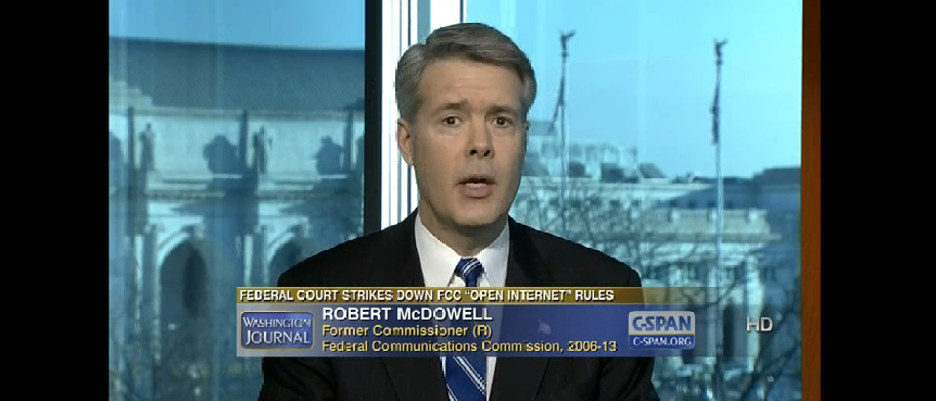 Robert Mcdowell Discusses Net Neutrality Rules on CSPAN, January 17, 2014