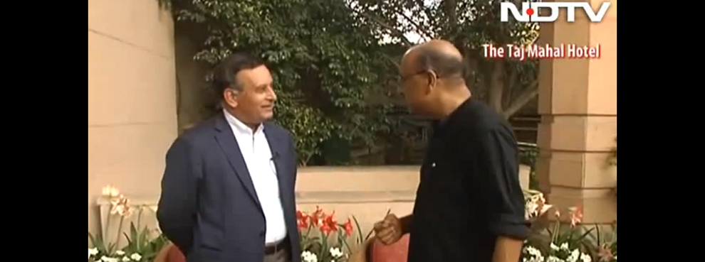 Walk The Talk with former Pakistan envoy to US Hussain Haqqani, NDTV, March 29, 2014