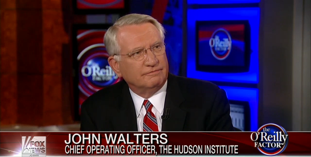 John P. Walters responds to George Soros and the war on drugs, Fox News, May 7, 2014