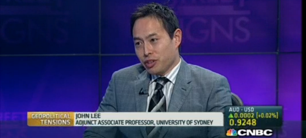 John Lee discussing geopolitical tensions in Asia, CNBC, June 2, 2014
