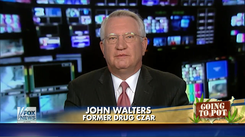 John Walters Responds to New York Times Editorial on Marijuana Legalization, Fox News, July 27, 2014